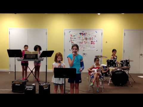 Rockband Session 1 -GAC 2015- The 7 Wonders of Music performing