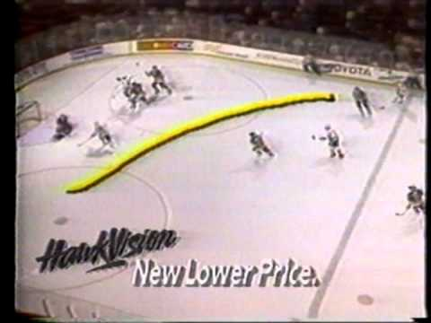 Sportschannel presents Hawkvision with The Chicago Blackhawks Commercial 1993