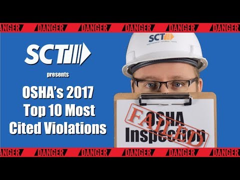 Top 10 Most Cited OSHA Violations of 2017
