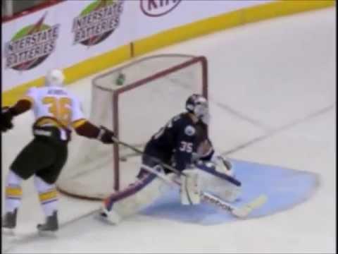 Nicklas Jensen One-Handed Shootout Goal