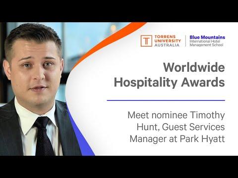 Timothy Hunt, Guest Services Manager, Park Hyatt Sydney