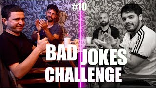 BAD JOKES CHALLENGE | Feat: Angelos Spiliopoulos,John Roussos,Alex Flabouris