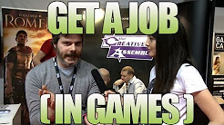 How to Get a Job in Video Games - Gaming Jobs - Tips from the Game Industry