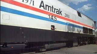 Amtrak Train Stops For Malfunctioning Crossing Signals