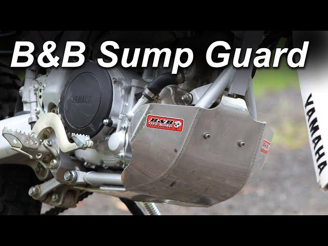 Project Yamaha WR250R - B&B Sump Guard Install & Review