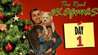 The Real Vlogmas Day 1🎄: Και πάλι απ' την αρχή | Tsede The Real