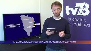Yvelines | La vaccination dans les Yvelines se poursuit pendant l'été
