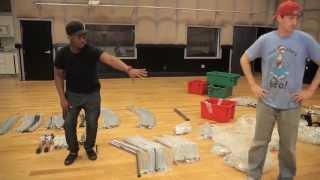Building Rashid Williams Custom Rack For John Legend Summer Tour