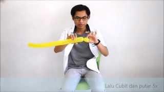 Balon Magic, Cara membuat Balon Angsa