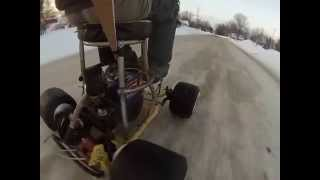Home Made Motorized Barstool Ride 2