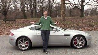Here are some of the odd quirks of the Aston Martin V8 Vantage. (Doug DeMuro)