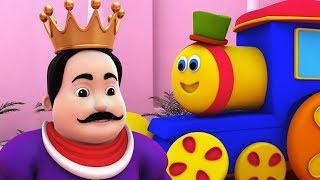 Bob o trem   velho Rei cole   rimas para crianças   Three Fiddlers Song   Bob Old King Cole