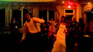 Best Original Wedding Surprise First Dance- Salsa, Bhangra, Jay-Z!!