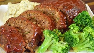 Beef Meatloaf Recipe & Alternative Turkey Meatloaf Recipe |Cooking With Carolyn