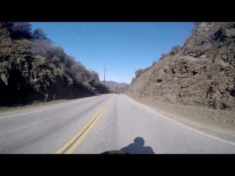Mulholland Highway - The Snake motorcycle ride