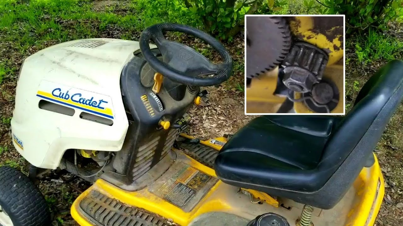 Riding Lawnmower Steering Pops Out of Gear? Try this easy fix first!