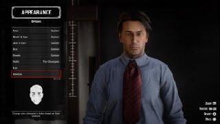 Red Dead Online Keanu Reeves  John Wick Character Creation
