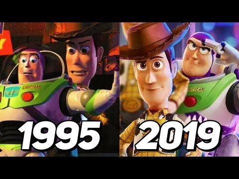 Evolution of Toy Story Games 1995-2019