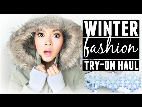 Winter Fashion Try-On Haul! Wildfox, Zara, Forever 21, H&M!
