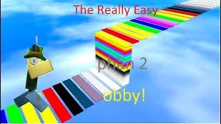 ROBLOX | Laufende Obby Brücke Ring | The Really Easy Obby (Phan 2)