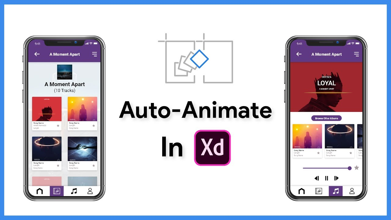 How to use auto-animate in Adobe XD
