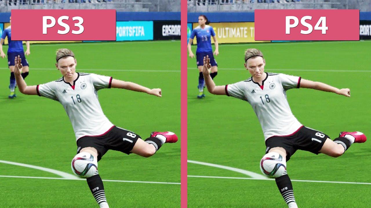 FIFA 14 PS4 VS PS3 Real Machine Screen Video Fifa-Coin.COM ... |Ps4 Graphics Vs Ps3 Fifa 14