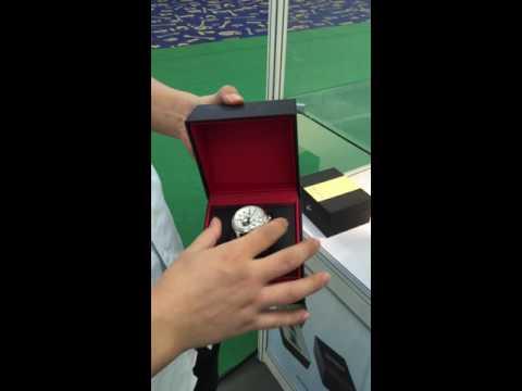 27th Shenzhen International Watch & Clock Fair   Kuan Shing wrist watch box