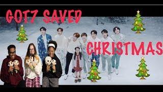 GOT7 (갓세븐) - MIRACLE MV REACTION | GOT7 SAVED CHRISTMAS