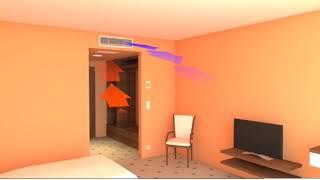 видео Система отопления и охлаждения в гостинице