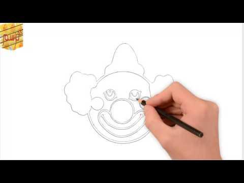 كيف ترسم مهرج بسهولة - How to draw clown  easily