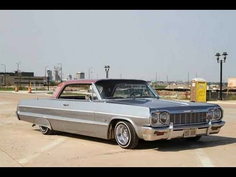 1964 Chevrolet Impala Lowrider Air Bag Flake Wire Wheels