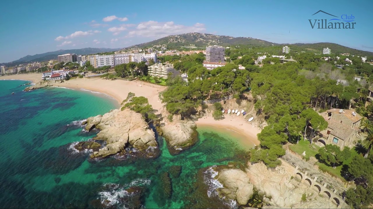 Cala Sa Cova Platja De Aro Beach Costa Brava Spain Club Villamar Youtube
