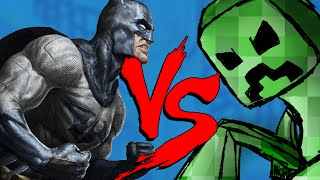 CREEPER vs BATMAN - Thumb Fighters