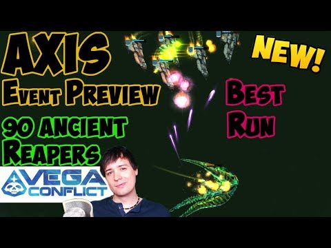 VEGA Conflict Manni's Best Run Vs 90 Ancient Reapers - AXIS PREVIEW