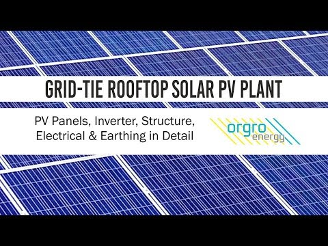 Premium Rooftop Solar PV Plant - Learn about Construction & Components