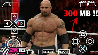 [300 MB] WWE 2K 18 For PSP Super Compressed For Android 2018 [Only One File]