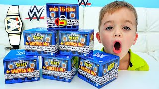 Vlad and Niki Pretend Play with WWE Toys Stories for Kids