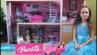 Barbie: Barbie and Ken Have a Baby in Barbie's NEW Sparkle Mansion with Friends