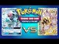 Ninetales GX VS Greninja BREAK - Pokemon TCG Online Game Play