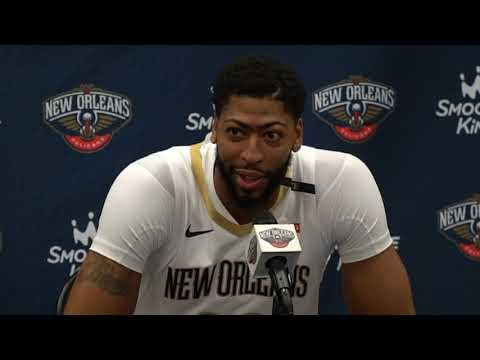 Anthony Davis says agent switch about becoming 'most dominant player in the league'