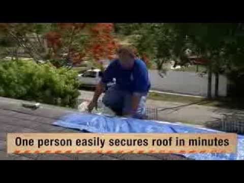 Utarpit Self Adhesive Roofing Tarp For Pros The Home