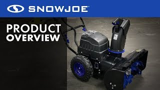 iON8024-XR - Snow Joe Cordless Two Stage 4-Speed Cordless Snow Blower - Product Overview