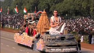 Tableau of Madhya Pradesh on R- Day