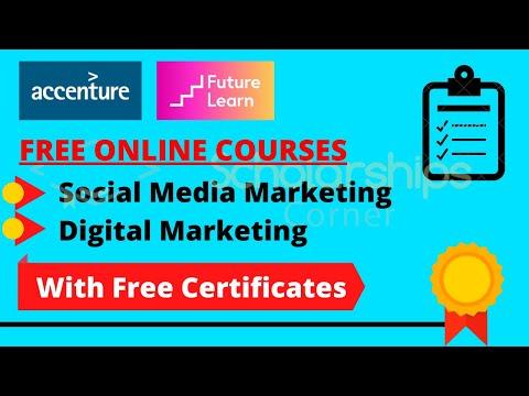 Social Media Marketing Course   Digital Marketing Course   Free Certificates   Free Courses