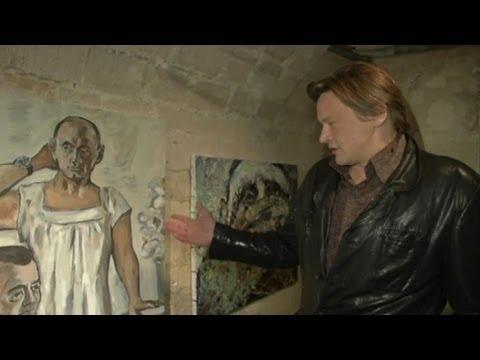 Il a dû fuir la Russie après avoir peint Poutine en nuisette - 18/03