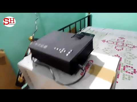 UNBOXING OF UNIC UC46 WIFI LED PROJECTOR