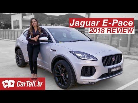 2018 Jaguar E-Pace S D180 review | CarTell.tv