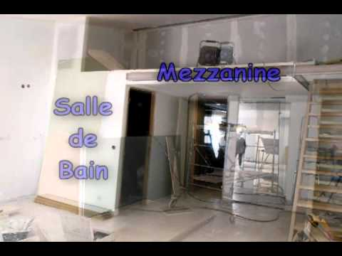 Am nagement d 39 un grenier en studio youtube for Amenagement grenier