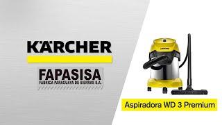 Aspiradora línea hogar WD 3 Premiun - Kärcher FAPASISA Paraguay