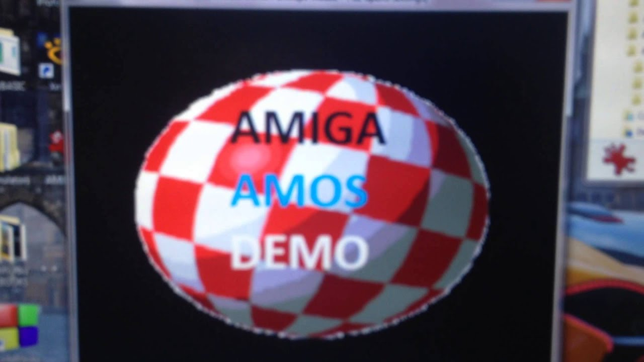 Amiga Amos Xmas Demo